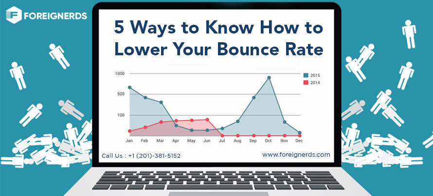 5 Ways to Know How to Lower Your Bounce Rate