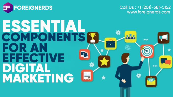 Essential Components for an Effective Digital Marketing