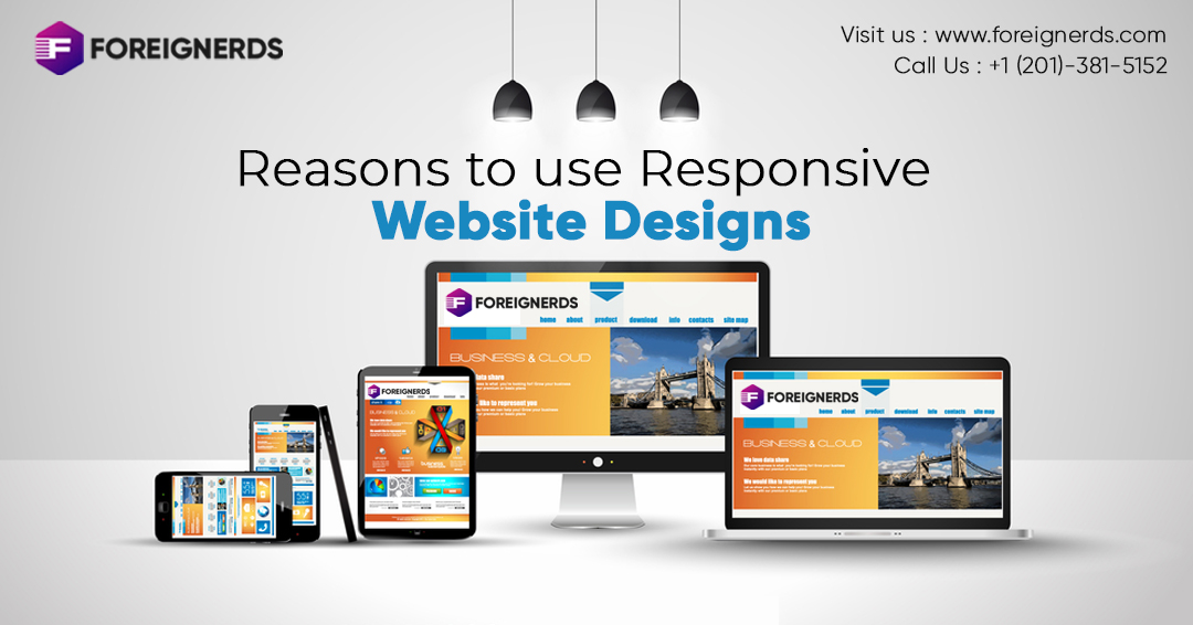 Reasons to Use Responsive Website Designs