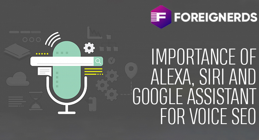 Importance of Alexa, Siri and Google Assistant for Voice SEO